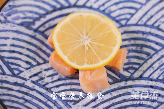 三文鱼南瓜米粉的简单做法
