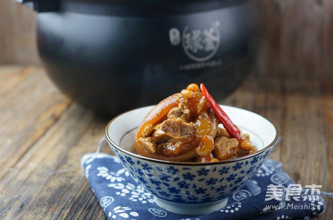 黄豆炖猪蹄怎么煮