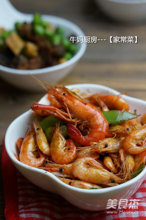 椒香河虾成品图