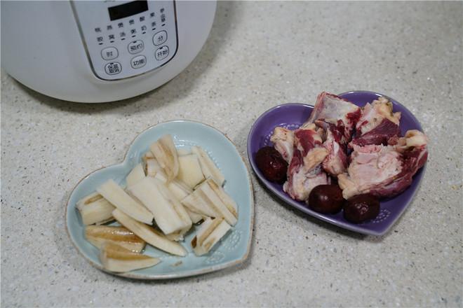 莲藕红枣牛骨汤的做法大全