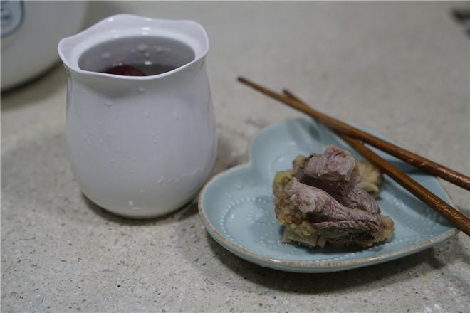 莲藕红枣牛骨汤的做法图解