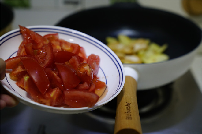 番茄焖双豆的简单做法