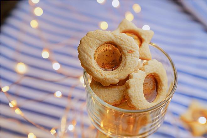 玻璃糖饼干成品图