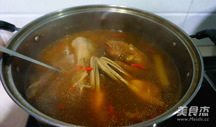香辣卤猪蹄之卤水制作的做法大全