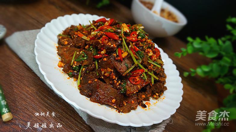 干拌麻辣牛肉的做法大全