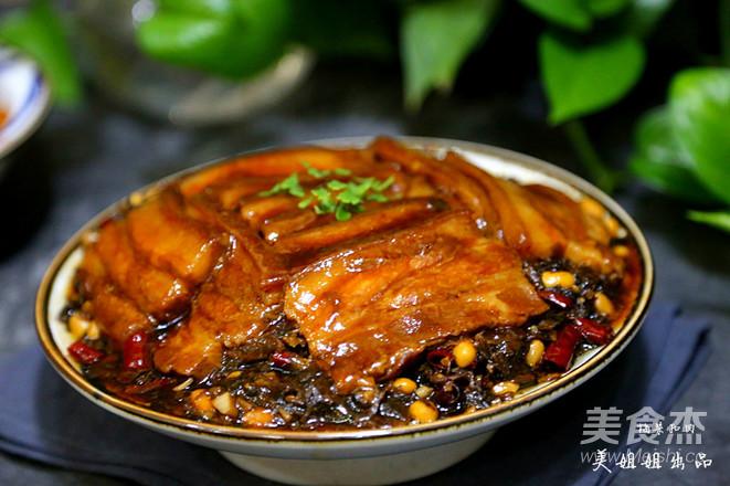 梅干菜扣肉成品图