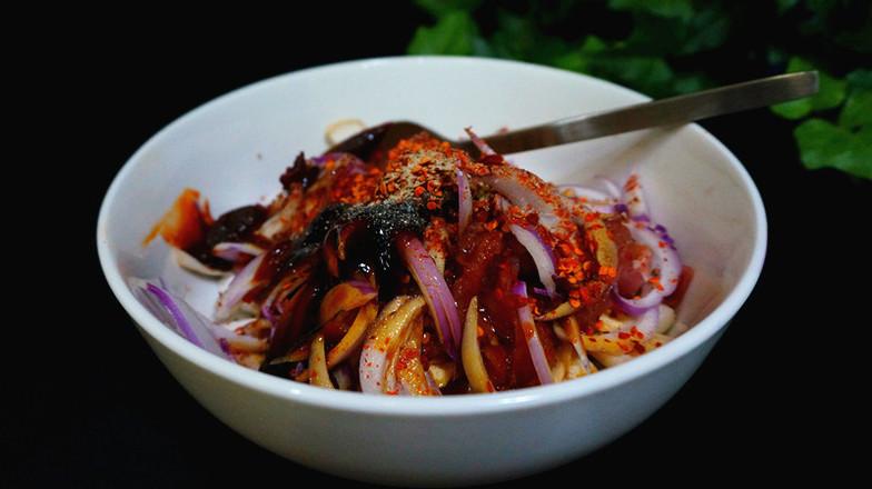 韩式杏鲍菇盖饭怎么煮