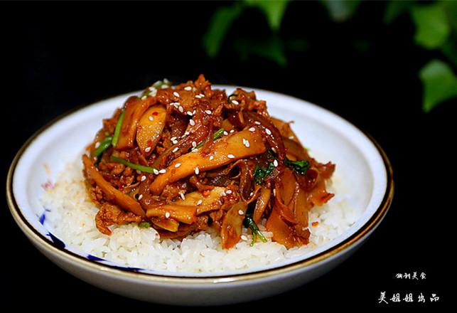 韩式杏鲍菇盖饭怎样炖