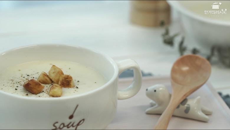 土豆汤成品图