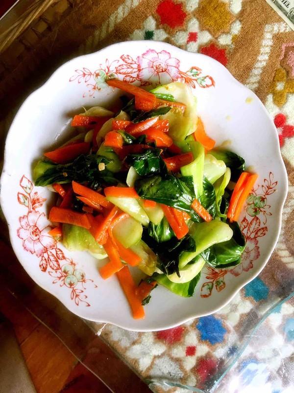 青菜烧成品图