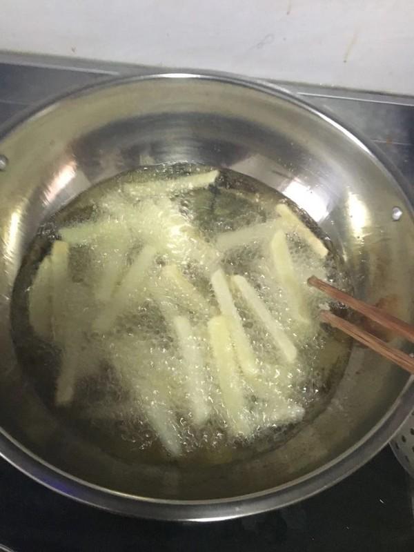 香脆薯条怎么吃