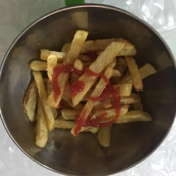 香脆薯条怎么做