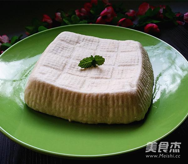 自制老豆腐成品图