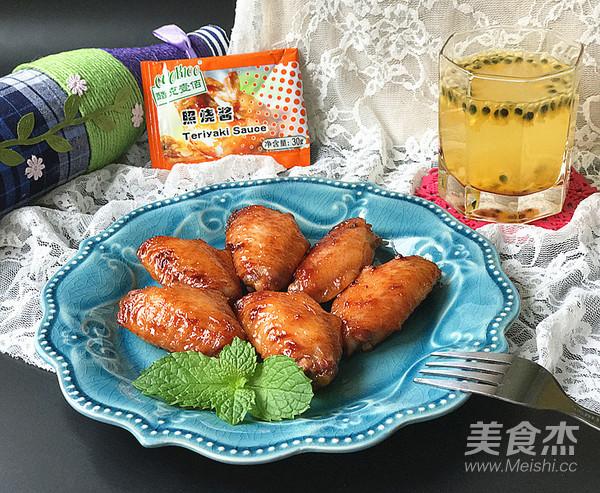霸王超市 | 百香果照烧烤鸡翅成品图