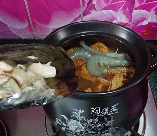 韩式海鲜锅 #晚餐#怎么炖