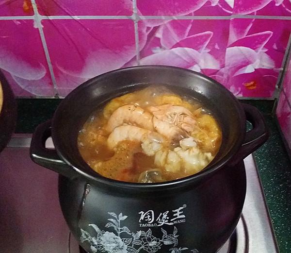 韩式海鲜锅 #晚餐#怎么煸