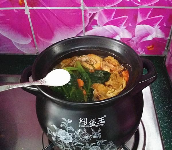 韩式海鲜锅 #晚餐#怎样做