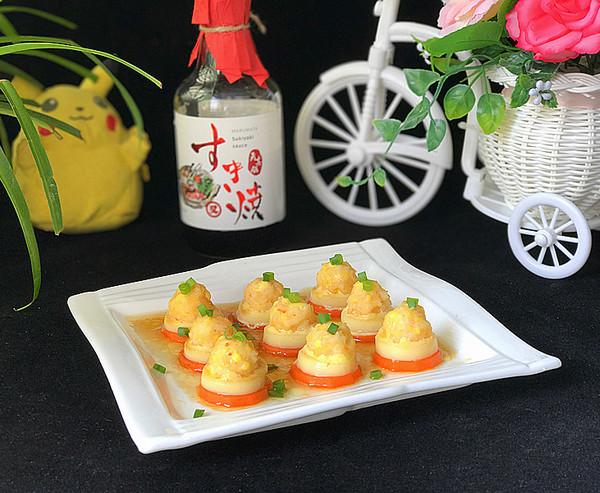 磷虾仁玉子豆腐成品图