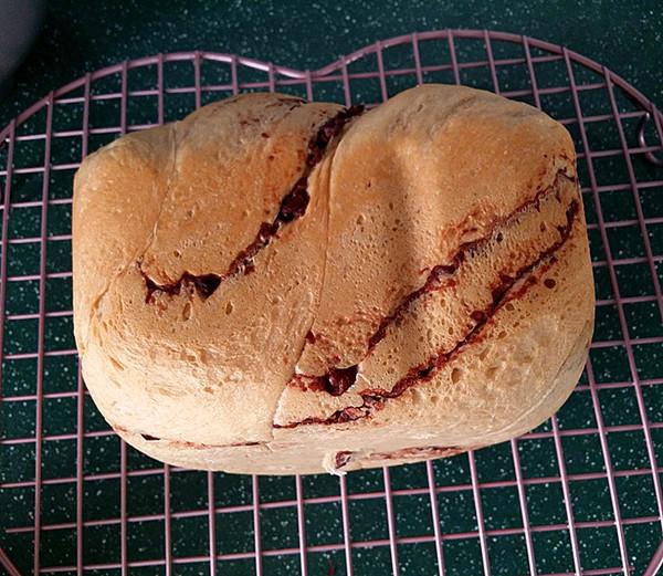 咖啡酸奶豆沙面包(独创配方全新做法) #下午茶#的制作