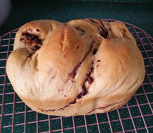 咖啡酸奶豆沙面包(独创配方全新做法) #下午茶#的制作方法