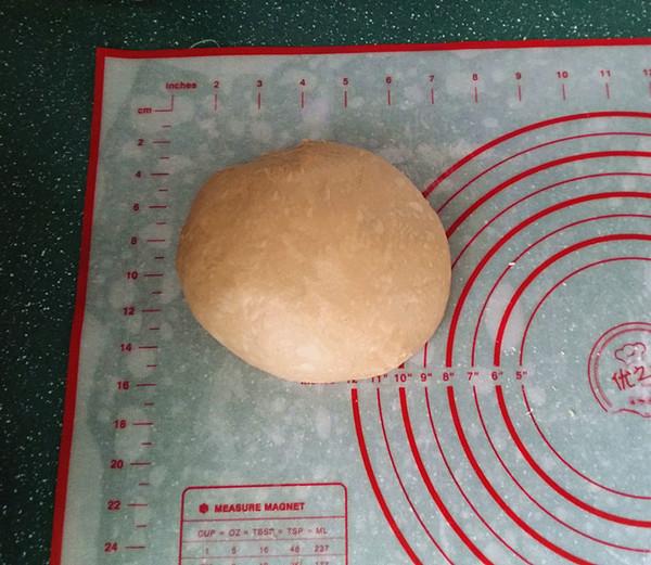 咖啡酸奶豆沙面包(独创配方全新做法) #下午茶#怎么炒