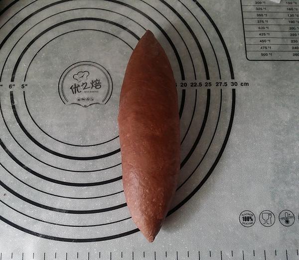 紫薯可可麻薯软欧的制作方法