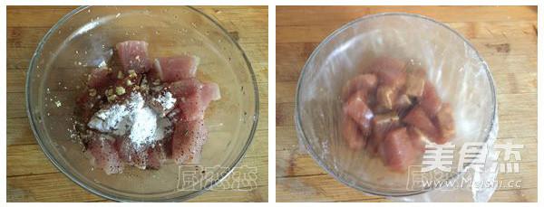 牙签肉的做法图解