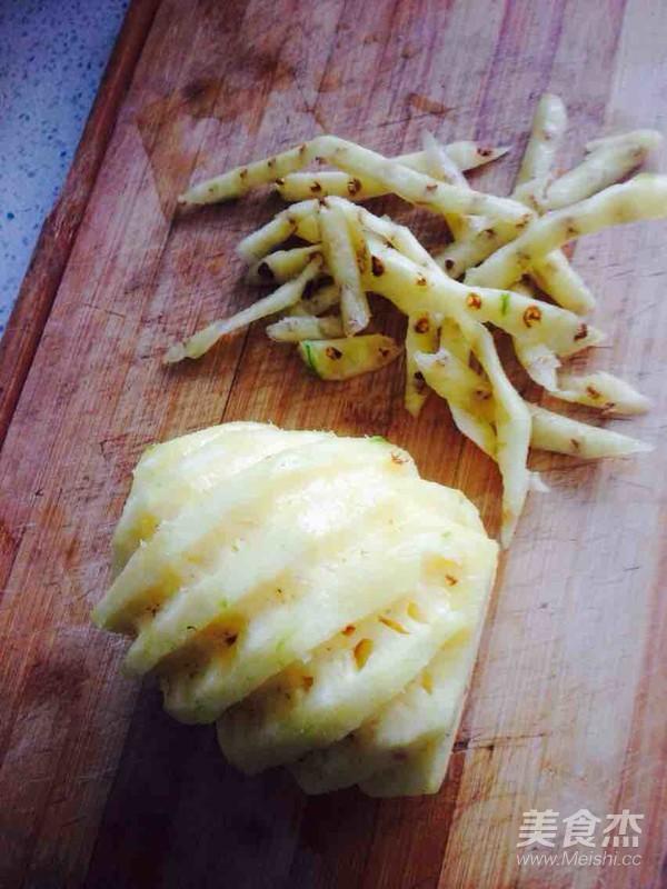 柿子椒杏鲍菇炒菠萝的做法大全
