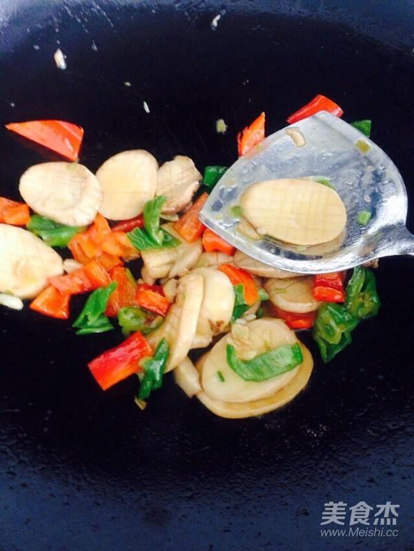 双椒杏鲍菇怎么煮