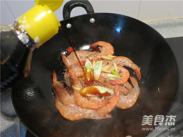 香辣油爆海虾怎么炒