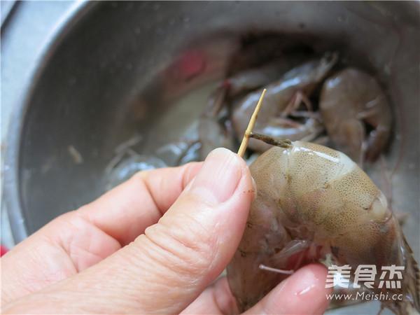 香辣油爆海虾的做法图解