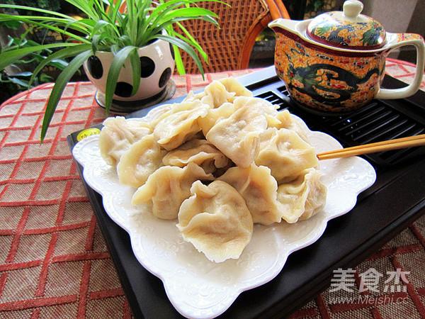 酸菜猪肉水饺成品图