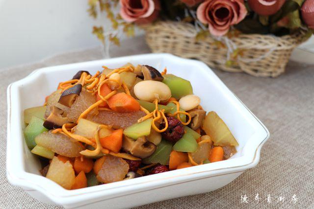 红烧蔬菜锅成品图