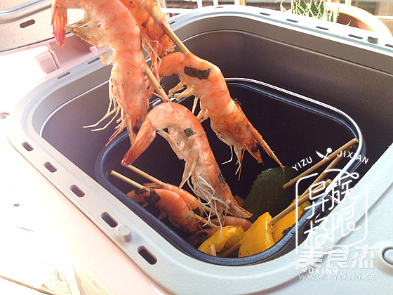 金不换烤海虾怎样煸