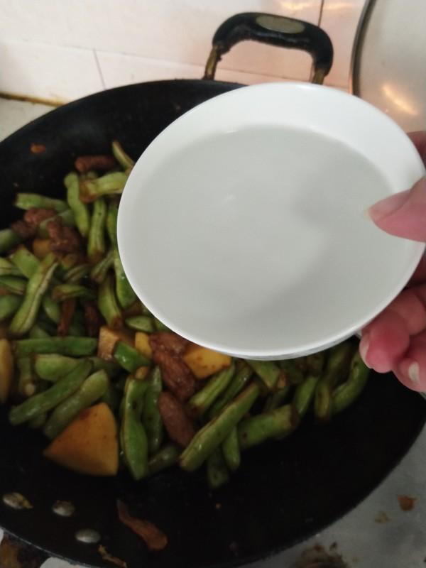 土豆炖芸豆的制作