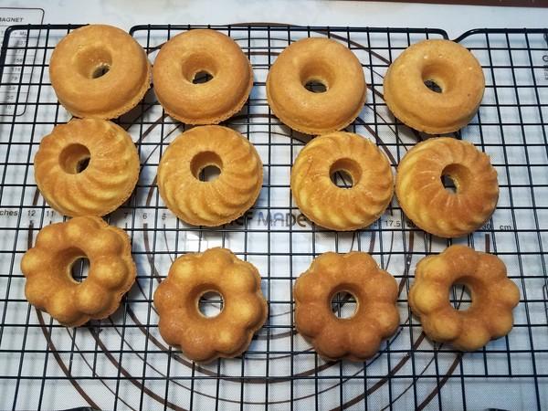 甜甜圈(全蛋版)怎样煸