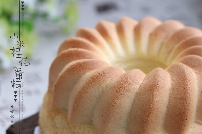 小米桂花蛋糕成品图