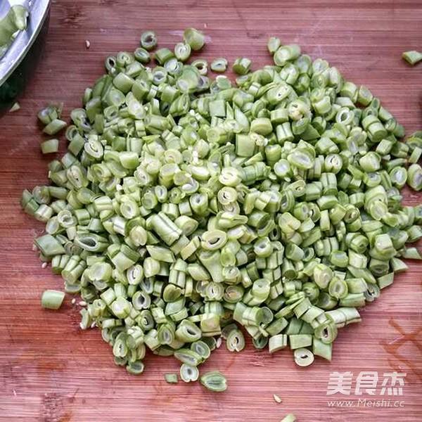 酱香肉沫四季豆不烂子的做法图解