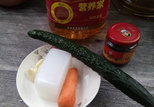 福临门#五彩拌凉粉的做法大全
