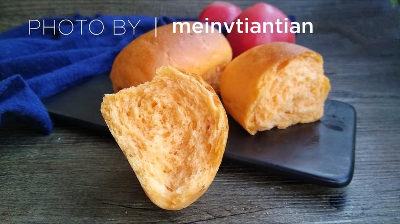 番茄汁小餐包成品图