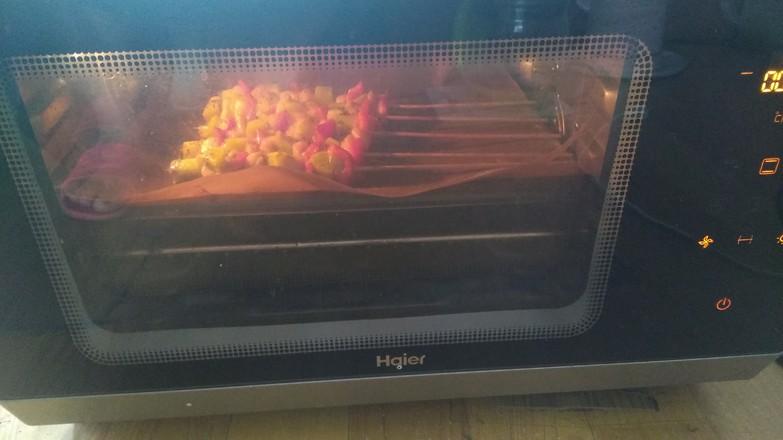 果香鸡肉串怎么炒