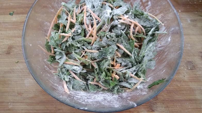 蒜香芹菜叶的简单做法