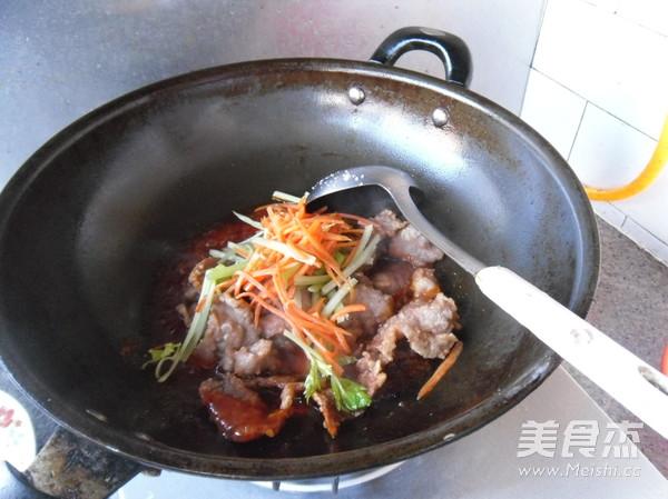 锅包肉怎样煸