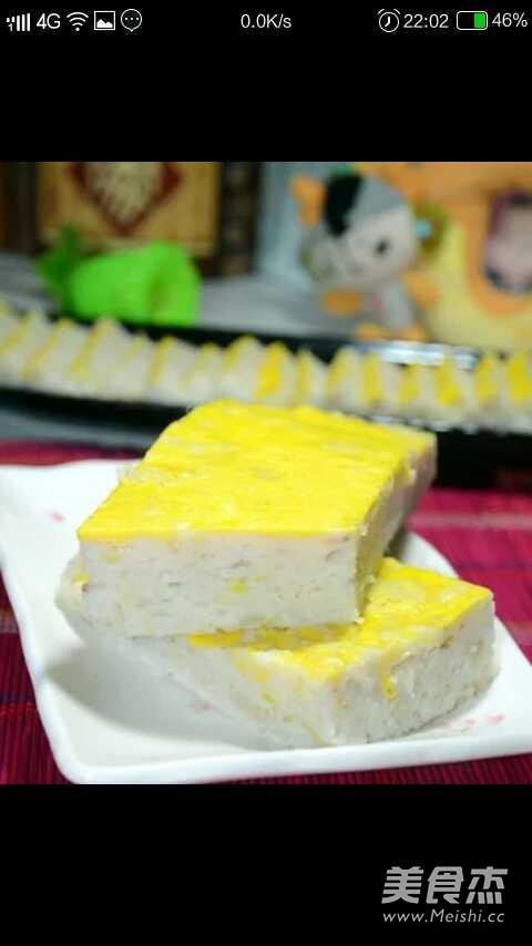 荆州鱼糕成品图