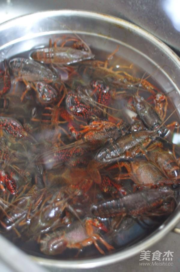 蒜香油泼小龙虾的做法大全