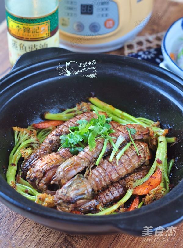干锅皮皮虾成品图
