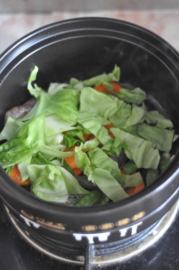 鲜虾蔬菜馄饨面怎么吃