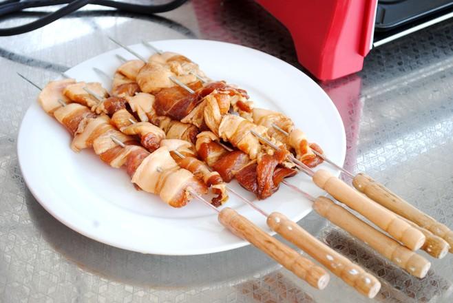香烤五花肉串的家常做法