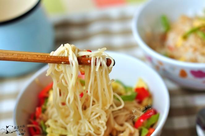 辣椒炒双食成品图