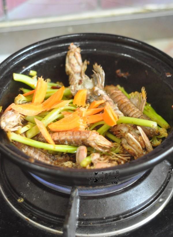 干锅皮皮虾怎么炒